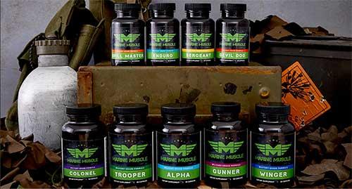 Marine Muscle - USA Made Anabolics | All Male Health