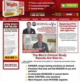 VigRX Plus website