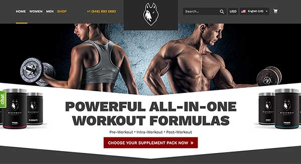Blackwolf Product Site